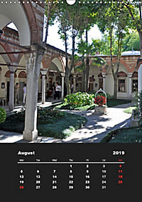 Sultanahmet - Historic Center of Istanbul / UK-Version (Wall Calendar 2019 DIN A3 Portrait) - Produktdetailbild 8
