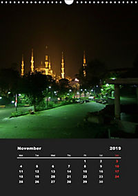 Sultanahmet - Historic Center of Istanbul / UK-Version (Wall Calendar 2019 DIN A3 Portrait) - Produktdetailbild 11