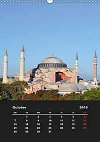 Sultanahmet - Historic Center of Istanbul / UK-Version (Wall Calendar 2019 DIN A3 Portrait) - Produktdetailbild 10