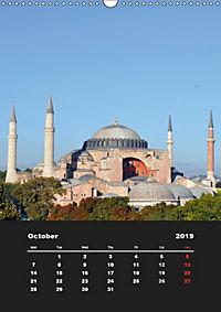 Sultanahmet - Historic Center of Istanbul / UK-Version (Wall Calendar 2019 DIN A3 Portrait) - Produktdetailbild 10