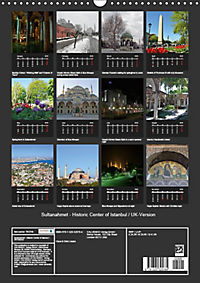 Sultanahmet - Historic Center of Istanbul / UK-Version (Wall Calendar 2019 DIN A3 Portrait) - Produktdetailbild 13