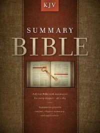 Summary Bible, KJV Edition
