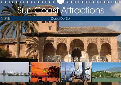 Sun Coast Attractions (Wall Calendar 2019 DIN A4 Landscape), Jon Grainge