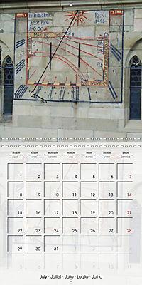 Sundials (Wall Calendar 2019 300 × 300 mm Square) - Produktdetailbild 7