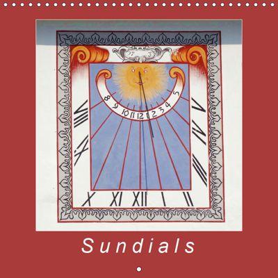 Sundials (Wall Calendar 2019 300 × 300 mm Square), Angelika keller