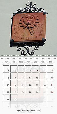 Sundials (Wall Calendar 2019 300 × 300 mm Square) - Produktdetailbild 4
