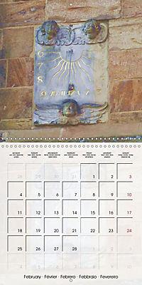 Sundials (Wall Calendar 2019 300 × 300 mm Square) - Produktdetailbild 2