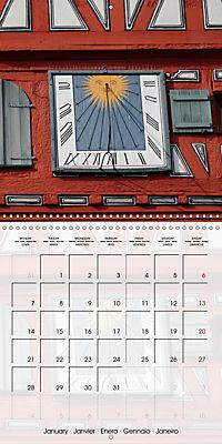 Sundials (Wall Calendar 2019 300 × 300 mm Square) - Produktdetailbild 1