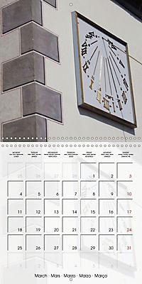 Sundials (Wall Calendar 2019 300 × 300 mm Square) - Produktdetailbild 3
