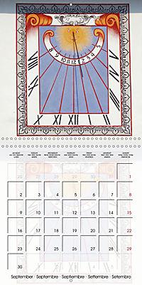Sundials (Wall Calendar 2019 300 × 300 mm Square) - Produktdetailbild 9
