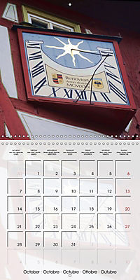 Sundials (Wall Calendar 2019 300 × 300 mm Square) - Produktdetailbild 10