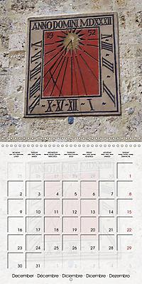 Sundials (Wall Calendar 2019 300 × 300 mm Square) - Produktdetailbild 12