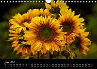 Sunflowers - Floral Impressions (Wall Calendar 2019 DIN A4 Landscape) - Produktdetailbild 6