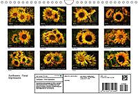 Sunflowers - Floral Impressions (Wall Calendar 2019 DIN A4 Landscape) - Produktdetailbild 13