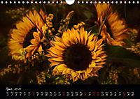 Sunflowers - Floral Impressions (Wall Calendar 2019 DIN A4 Landscape) - Produktdetailbild 4