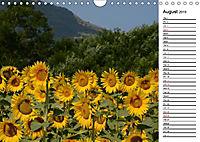 Sunflowers for a year (Wall Calendar 2019 DIN A4 Landscape) - Produktdetailbild 8