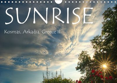 Sunrise, Kosmas, Arkadia, Greece II (Wall Calendar 2019 DIN A4 Landscape), Yiannis Logiotatides