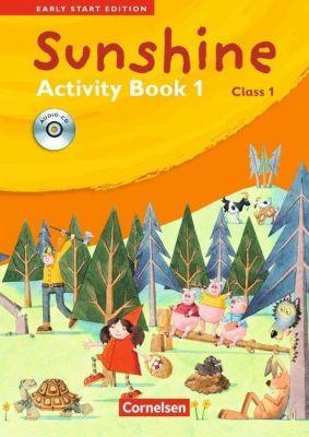 Sunshine - Early Start Edition: Class 1, Activity Book, m. Lieder-/Text-Audio-CD, Susan Norman, Hugh L'Estrange
