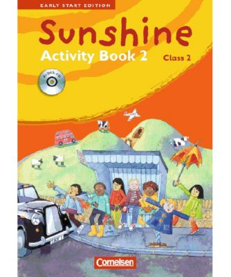 Sunshine - Early Start Edition: Class 2, Activity Book, m. Lieder-/Text-Audio-CD, Susan Norman, Hugh L'Estrange