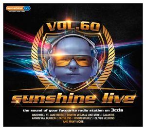 Sunshine Live Vol. 60, Diverse Interpreten