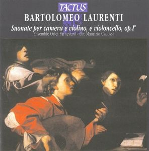 Suonate Per Camera Op.1, Orfei Farnesiani