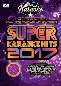 Super Karaoke Hits 2017, Diverse Interpreten