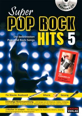 Super Pop Rock Hits 5, mit Karaoke CD