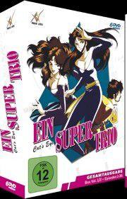 Super Trio – CatŽs eye - Box 1 DVD-Box