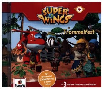 Super Wings - Trommelfest, 1 Audio-CD, Super Wings