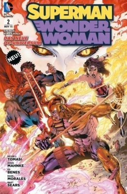 Superman / Wonder Woman, Peter J. Tomasi, Charles Soule