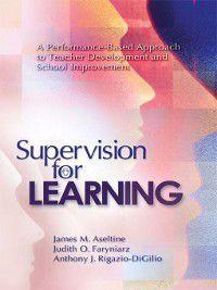 Supervision for Learning, Anthony J. Rigazio-DiGilio, James M. Aseltine, Judith O. Faryniarz