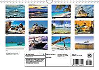 SUPERYACHTS (Wall Calendar 2019 DIN A4 Landscape) - Produktdetailbild 13