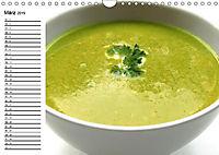 Suppen. Heiß geliebtes zum Löffeln (Wandkalender 2019 DIN A4 quer) - Produktdetailbild 4