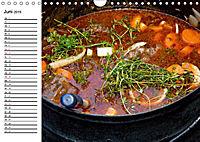 Suppen. Heiss geliebtes zum Löffeln (Wandkalender 2019 DIN A4 quer) - Produktdetailbild 6
