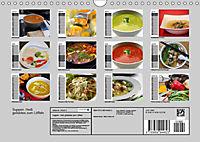 Suppen. Heiss geliebtes zum Löffeln (Wandkalender 2019 DIN A4 quer) - Produktdetailbild 13