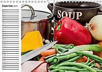Suppen. Heiss geliebtes zum Löffeln (Wandkalender 2019 DIN A4 quer) - Produktdetailbild 12