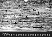 Surf in B&W (Wall Calendar 2019 DIN A4 Landscape) - Produktdetailbild 2