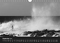 Surf in B&W (Wall Calendar 2019 DIN A4 Landscape) - Produktdetailbild 9