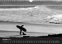 Surf in B&W (Wall Calendar 2019 DIN A4 Landscape) - Produktdetailbild 10