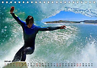 Surfen - die perfekte Welle (Tischkalender 2019 DIN A5 quer) - Produktdetailbild 1