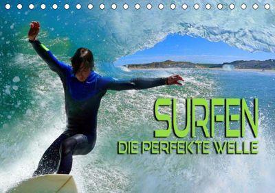 Surfen - die perfekte Welle (Tischkalender 2019 DIN A5 quer), Renate Bleicher