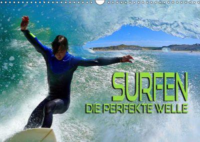 Surfen - die perfekte Welle (Wandkalender 2019 DIN A3 quer), Renate Bleicher