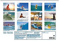 Surfen: Spiel mit den Wellen - Wellenreiten (Wandkalender 2019 DIN A2 quer) - Produktdetailbild 2