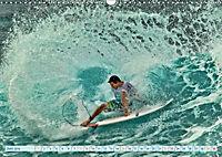 Surfen - Wasser, Wind und coole Typen (Wandkalender 2019 DIN A3 quer) - Produktdetailbild 6