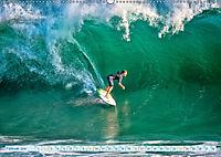 Surfen - Wasser, Wind und coole Typen (Wandkalender 2019 DIN A2 quer) - Produktdetailbild 2