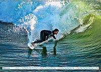 Surfen - Wasser, Wind und coole Typen (Wandkalender 2019 DIN A2 quer) - Produktdetailbild 3