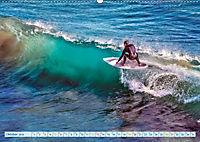 Surfen - Wasser, Wind und coole Typen (Wandkalender 2019 DIN A2 quer) - Produktdetailbild 10