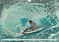 Surfen - Wasser, Wind und coole Typen (Wandkalender 2019 DIN A4 quer) - Produktdetailbild 6