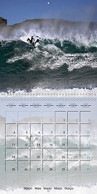 Surfing Passion (Wall Calendar 2019 300 × 300 mm Square) - Produktdetailbild 3