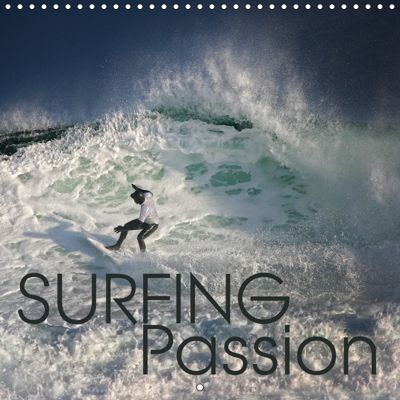 Surfing Passion (Wall Calendar 2019 300 × 300 mm Square), Martina Cross